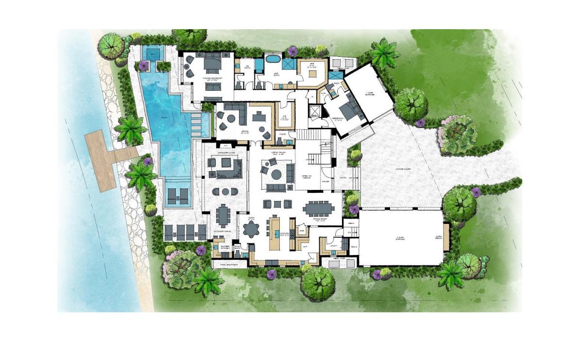 Port Royal Admiralty Parade Home Floorplan 1