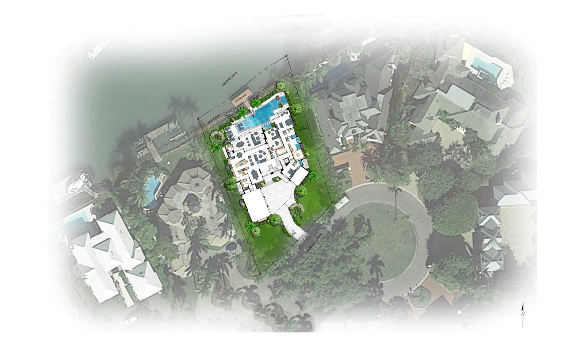 Port Royal Admiralty Parade Home Aerial